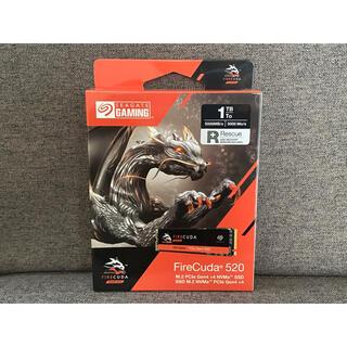 【新品】FireCuda 520 SSD ZP1000GM3A002(PCパーツ)