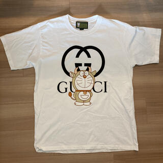 Gucci - DORAEMON×GUCCI ドラえもん×グッチ メンズTシャツ Mサイズ