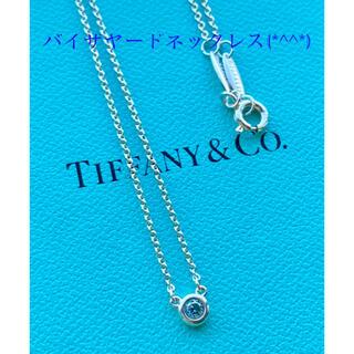 Tiffany & Co. - ティファニーバイザヤードネックレス 美品です(*^^*)