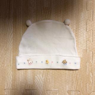 familiar - 【美品】ファミリア☆ベビー帽子