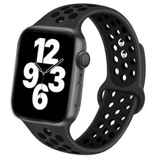 Apple Watch スポーツ バンド 42/44mm ブラック/ブラック