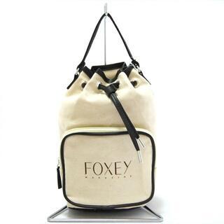フォクシー(FOXEY)のフォクシー ハンドバッグ美品  - MAGAZINE(ハンドバッグ)