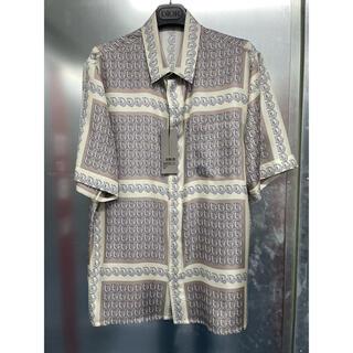 ディオール(Dior)のDior オブリーク柄 シルク100%シャツ(シャツ)