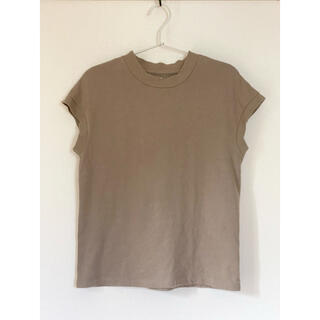MUJI (無印良品) - 【無印良品】太番手 天竺編み フレンチスリーブTシャツ