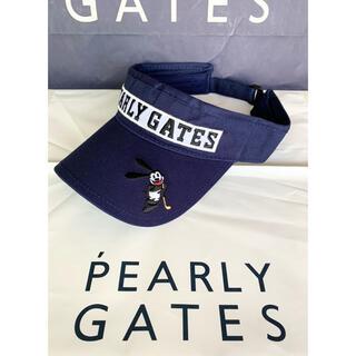 PEARLY GATES - パーリーゲイツゴルフバイザー限定版