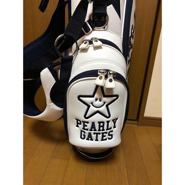 PEARLY GATES(パーリーゲイツ)の値下げ!PEARLY GATES 星柄スタンドキャディバッグ スポーツ/アウトドアのゴルフ(バッグ)の商品写真