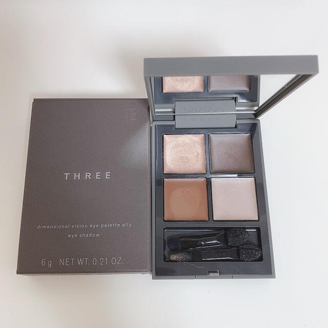 THREE(スリー)のTHREE ディメンショナルビジョンアイパレットアリー 03 コスメ/美容のベースメイク/化粧品(アイシャドウ)の商品写真