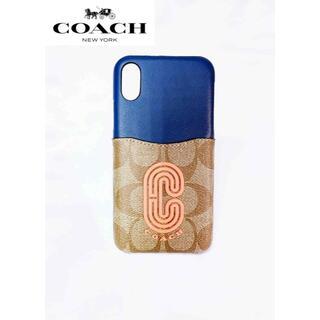 COACH - COACHコーチ iPhoneケース iPhone X/XS 携帯ケース