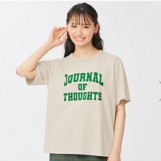 GU - GU カレッジロゴTシャツ Lサイズん