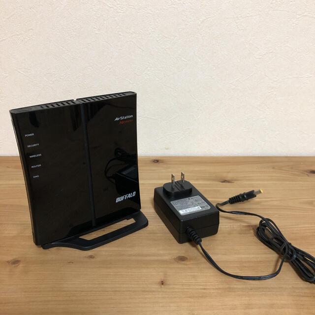 Buffalo(バッファロー)のBUFFALO バッファロー製 無線LAN ルータ WHR-G301N スマホ/家電/カメラのPC/タブレット(PC周辺機器)の商品写真