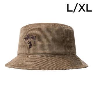 ステューシー(STUSSY)のSTUSSY × UNION CORDUROY BUCKET HAT L/XL(ハット)