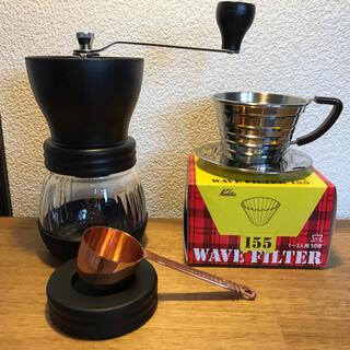 HARIO - HARIO コーヒーミル Kalita ドリッパー コーヒーメジャーセット