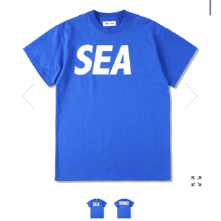 SEA - WIND AND SEA  S/S T-SHIRT Lサイズ