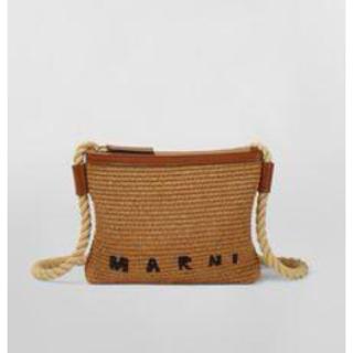 Marni - MARNI バーラップ ロープショルダ
