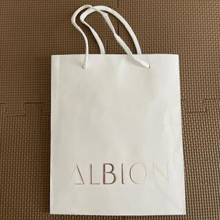 アルビオン(ALBION)のアルビオン 紙袋 ショッパー(ショップ袋)