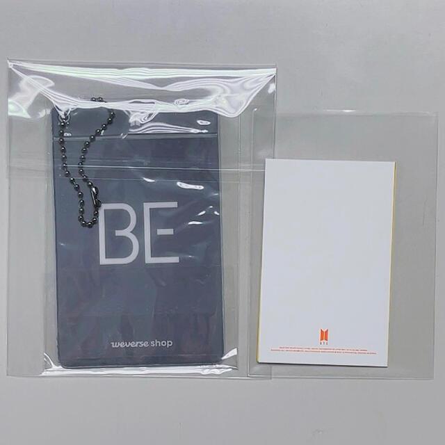 防弾少年団(BTS)(ボウダンショウネンダン)のBE weverse トレカ butter メッセージカード ユンギ エンタメ/ホビーのCD(K-POP/アジア)の商品写真