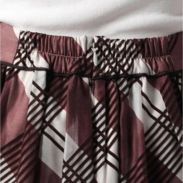 Apuweiser-riche(アプワイザーリッシェ)の新品 今季新作 アプワイザーリッシェ フロッキーチェックフレアスカート レディースのスカート(ロングスカート)の商品写真