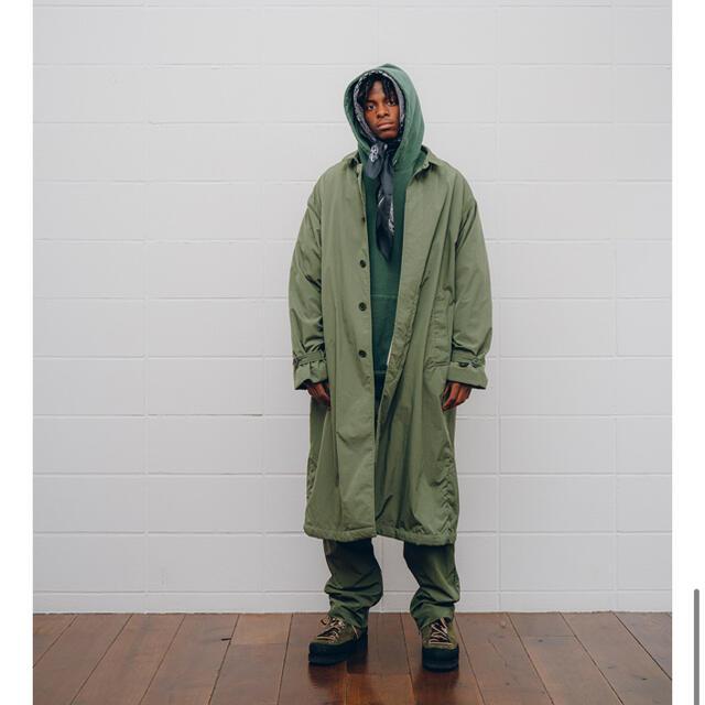 UNUSED(アンユーズド)のunused 20AW Limited color ナイロンステンカラーコート メンズのジャケット/アウター(ステンカラーコート)の商品写真