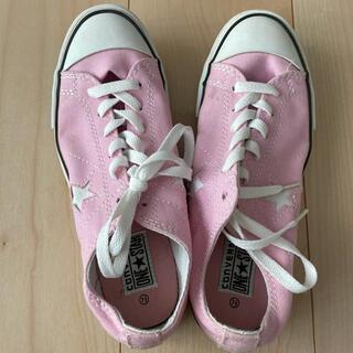 CONVERSE - ピンクのコンバース