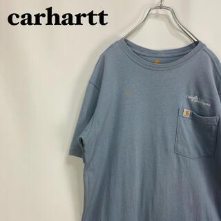 carhartt - カーハート☆企業 ロゴタグ 刺繍ロゴ ポケT ポケット Tシャツ カットソー