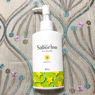 saborino サボリーノ おはようるおいミルク UV HC オールインワン