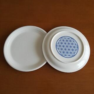 プレマオリジナル森修焼(しんしゅう) フラワーオブライフ プレート皿 M 食器