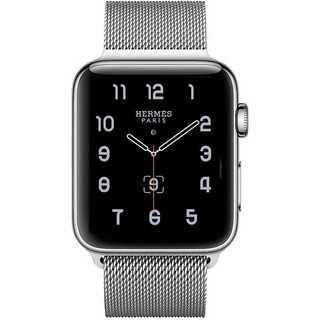 【B34】Apple Watch ミラネーゼループ42mm/44mm(シルバー)