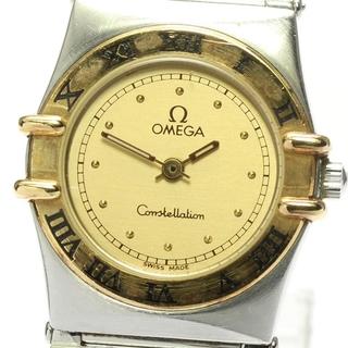 オメガ(OMEGA)のオメガ コンステレーション   クォーツ レディース 【中古】(腕時計)
