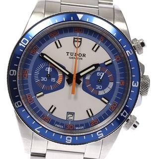 チュードル(Tudor)のチュードル ヘリテージクロノ デイト 70330 自動巻き メンズ 【中古】(腕時計(アナログ))