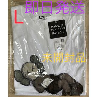UNIQLO - KAWS ユニクロ コラボ Tシャツ L【新品・送料無料】