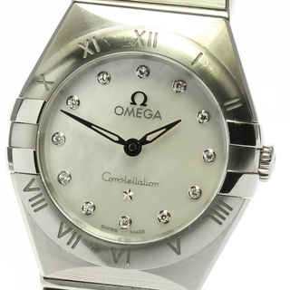 オメガ(OMEGA)のオメガ コンステレーション マンハッタン  レディース 【中古】(腕時計)
