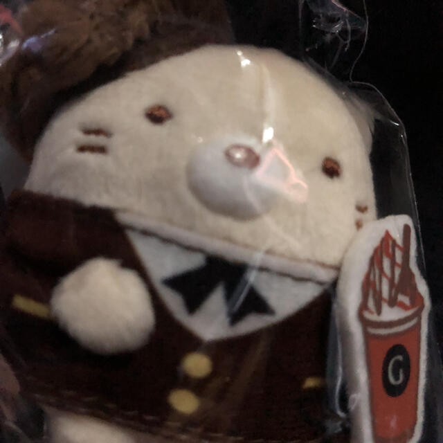 GODIVA てのりぬいぐるみ すみっコぐらし ねこ エンタメ/ホビーのおもちゃ/ぬいぐるみ(ぬいぐるみ)の商品写真