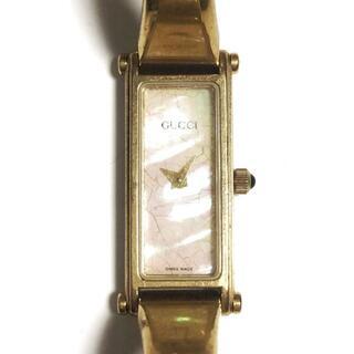 Gucci - GUCCI(グッチ) 腕時計 - 1500 レディース