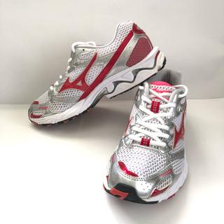 ミズノ(MIZUNO)のレディース MIZUNO ランニングシューズ マラソン トレーニング 美品(陸上競技)
