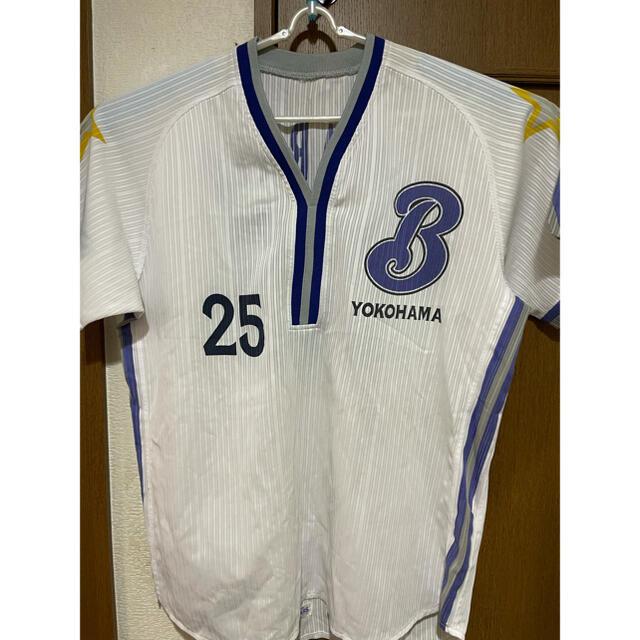 横浜DeNAベイスターズ(ヨコハマディーエヌエーベイスターズ)のレプリカユニフォーム(村田修一) スポーツ/アウトドアの野球(応援グッズ)の商品写真