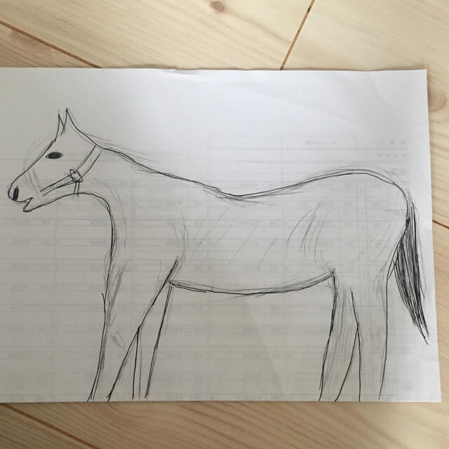 希望の馬 horse of hope エンタメ/ホビーのコレクション(その他)の商品写真