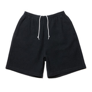 COOTIE - COOTIE Big Waffle Easy Shorts ブラック
