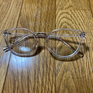 ジンズ(JINS)のクリアメガネ JINS (サングラス/メガネ)
