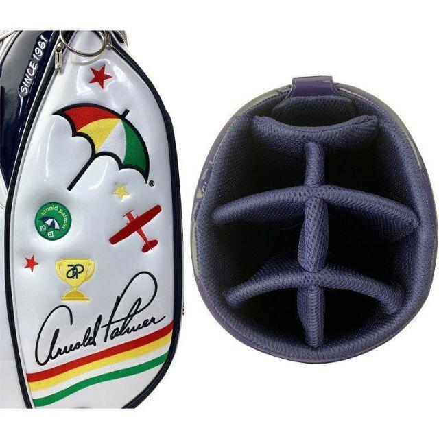 Arnold Palmer(アーノルドパーマー)の新品 アーノルドパーマー エナメル キャディバッグ NA スポーツ/アウトドアのゴルフ(バッグ)の商品写真
