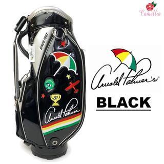 アーノルドパーマー(Arnold Palmer)の新品 アーノルドパーマー エナメル キャディバッグ BK(バッグ)
