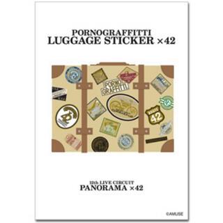 ポルノグラフィティ - ポルノグラフィティ LUGGAGEステッカー×42