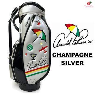 アーノルドパーマー(Arnold Palmer)の新品 アーノルドパーマー エナメル キャディバッグ SIL(バッグ)