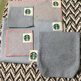 Starbucks Coffee - 新品未使用 スターバックス ランチョンマット コースター 収納バッグセット
