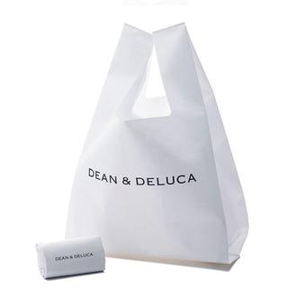 DEAN & DELUCA - DEAN & DELUCA ミニマムエコバッグホワイト