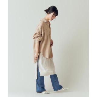 Plage - shenery シーナリー テンセルbigシャツ