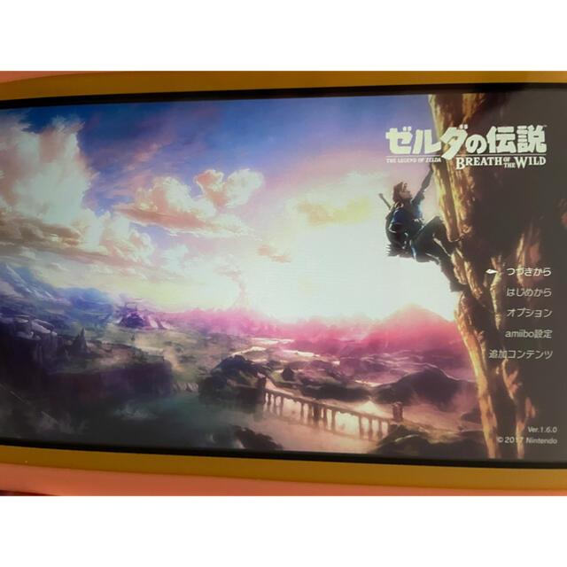 Nintendo Switch(ニンテンドースイッチ)のゼルダの伝説 ブレス オブ ザ ワイルド 海外版 エンタメ/ホビーのゲームソフト/ゲーム機本体(家庭用ゲームソフト)の商品写真