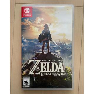 Nintendo Switch - ゼルダの伝説 ブレス オブ ザ ワイルド 海外版