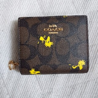 COACH - COACH×SNOOPY【新品】大人気完売コンパクトウォレット