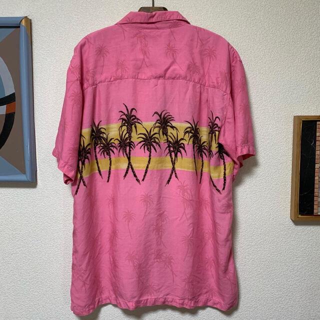 ART VINTAGE(アートヴィンテージ)の90s アロハシャツ 総柄シャツ 開襟シャツ レーヨンシャツ レアカラー 井口理 メンズのトップス(シャツ)の商品写真