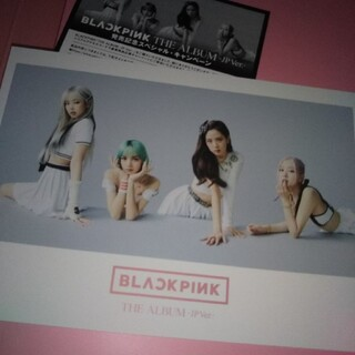BLACKPINK ポストカード THE ALBUM -JP Ver.-